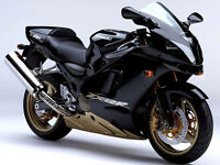 Wanted, Kawasaki ZX9R E1 blue or ZX12R black, low miles, standard.