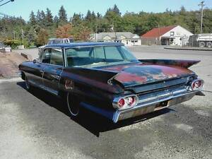 1961 Cadillac 4 DOOR HARD TOP PARTS
