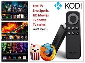Amazon fire tv stick/box with kodi installed