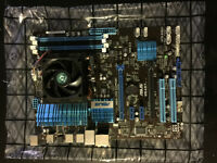8 Core Processor with ASUS Mother board
