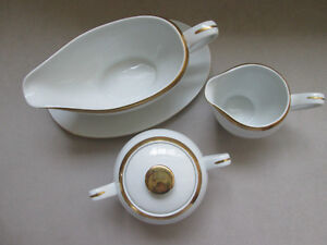 SET OF SUGAR CREAMER AND GRAVY BOAT West Island Greater Montréal image 2