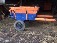 Vintage Farm Cart