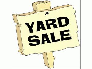 HUGE Yard Sale