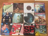 """Assorted rock Vinyl 7""""s"""