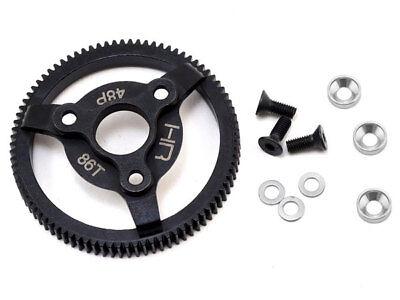 Hot Racing Steel Spur Gear 86T 48P for Traxxas Bandit/Stampede/Rustler/Slash (86t 48p Spur)