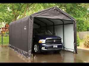 12' x 20' Shelter logic car garage/car port