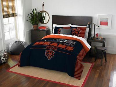 Chicago Bears Full/Queen Comforter & Sham Set