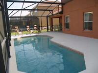VACATION TIME ORLANDO FLORIDA 5 BEDROOM POOL HOME GATED RESORT
