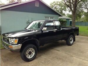 Looking for rust free Toyota pick up xtra cab sr5 pre-1993