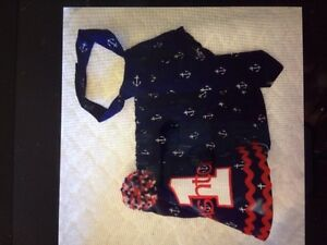Boys First Birthday Ancor Outfit