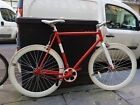 NOLOGO SINGLE SPEED / FIXIE 59cm ALMOST NEW!! FULLY SERVICED