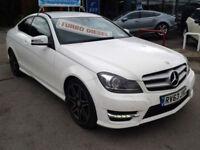 Mercedes-Benz C-ClassC220 CDI BlueEFFICIENCY AMG Sport Plus Auto (HALF LEATHER+S