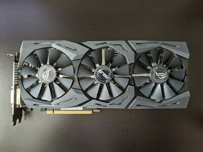 ASUS NVIDIA GeForce GTX 1080 8GB GDDR5X Graphics Card (STRIX-GTX1080-A8G-GAMING)