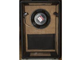 Hand made vented box Stereo Speaker casing black finish