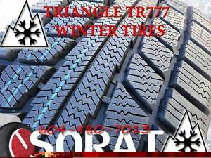 WINTER - TIRES 205/70/15 TRIAGLE TR777 SNOW LION FREE INSTAL