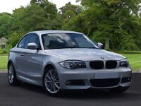 BMW 1 SERIES 118d M Sport 2dr (silver) 2011