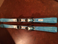 Head Downhill Skis for Women - used twice and Sz 8 boots and pol