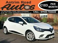 2017 RENAULT CLIO DYNAMIQUE NAV ** LOW MILES ** BUY FROM HOME TODAY GET FREE DELIVERY