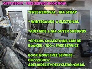 Do you have old fridges? broken electricals ? Scrap metals?:: Toorak Gardens Burnside Area Preview