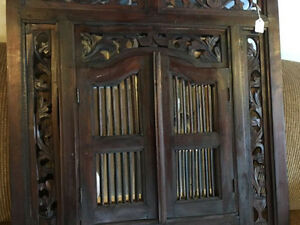 Incredible Antique Mirror - Hand Carved? OBO