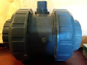 "New IPEX 90-3"" DN80 pvc10 True Union Ball Valve,EPDM,DG4331124"
