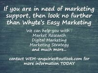 Give us a call for your marketing needs