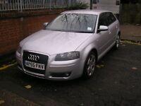 Audi A3 (silver)