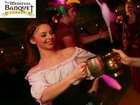 Waitress-Medieval Banquet-Towerhill Area