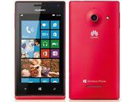 Huawei Ascend W1 - 4GB - Blue (Unlocked) Smartphone Mobile