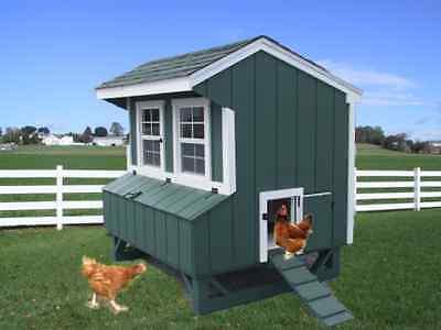 Chicken Coop Lanc Pa Dutch Amish Custom Pen Poultry Shed Hen House Farm Built