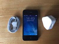 Iphone 4, 16gb, black phone
