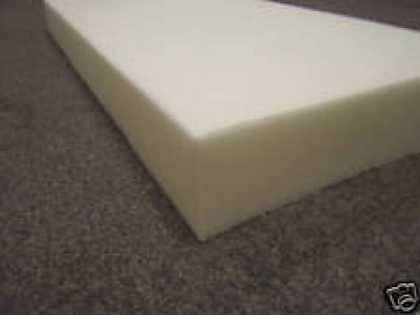 "Mattress Twin Size Foam Rubber USA Made 5"" x 39"" x 75"""