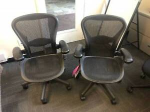 Herman Miller Aeron office chairs - Size B - Fully Loaded