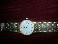 Woman's Gold Longinis Watch