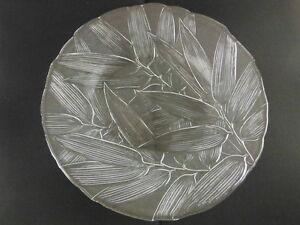 Mikasa Crystal Platter - BNIB