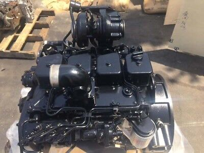 Brand New Komatsu Sa4d102 Engine Saa4d102 S4d102 -125 Hp- 1 Year Warranty