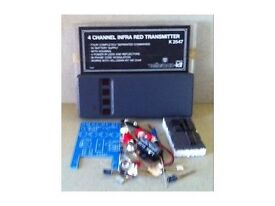 4 CHANNEL TX & RX VELLEMAN KITS ( NEW ) BOTH KITS FOR £ 20 - ideal hobby / gift
