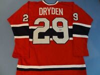 Authenticated KEN DRYDEN Montreal Canadiens Hockey Jersey GA-COA
