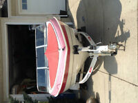 Red and White Larson- Low hours- Great Condition!