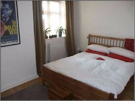 Very spacious Thames riverside 1 bedroom FURNISHED apartment with gated parking, Mortlake, London