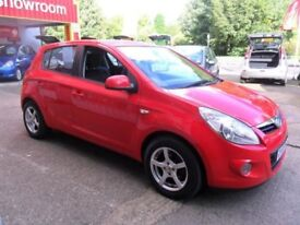Hyundai i20 Style 5door 1.4 petrol 5speed low mileage.
