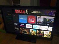 """40"""" smart LED TV"""