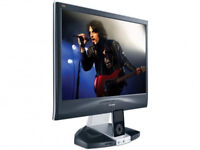 ViewSonic VX1945wm 19 inch LCD Display Monitor with Integrated iPod Dock . Built-in stereo speakers.