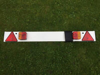 Trailer light board towing recovery lights 7 pin caravan trailor