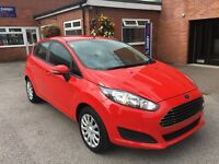 Ford FIESTA STYLE (red) 2014
