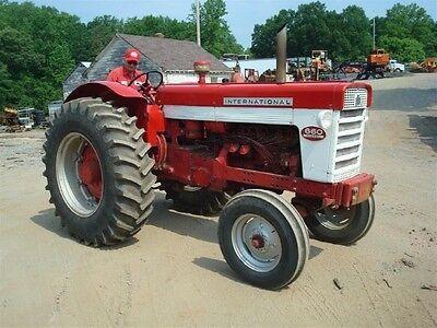 Ih International Harvester 460 560 606 660 2606 Shop Service Manual Case Tractor