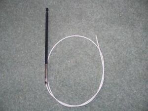 SAAB 900 9-3 93 1994-2002 NEW AERIAL ANTENNA MAST WITH FITTING INSTRUCTIONS
