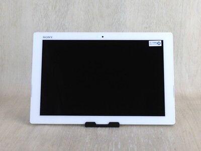 Docomo Sony Xperia Z4 Tablet SO-05G White Unlocked Android Tablet F/S segunda mano  Embacar hacia Argentina