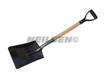 5 x Neilsen Strong Builders Shovels with wooden handle Free delivery CT0091