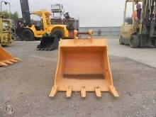OZ Rock Bucket Cat303 590mm wide with teeth Wingfield Port Adelaide Area Preview
